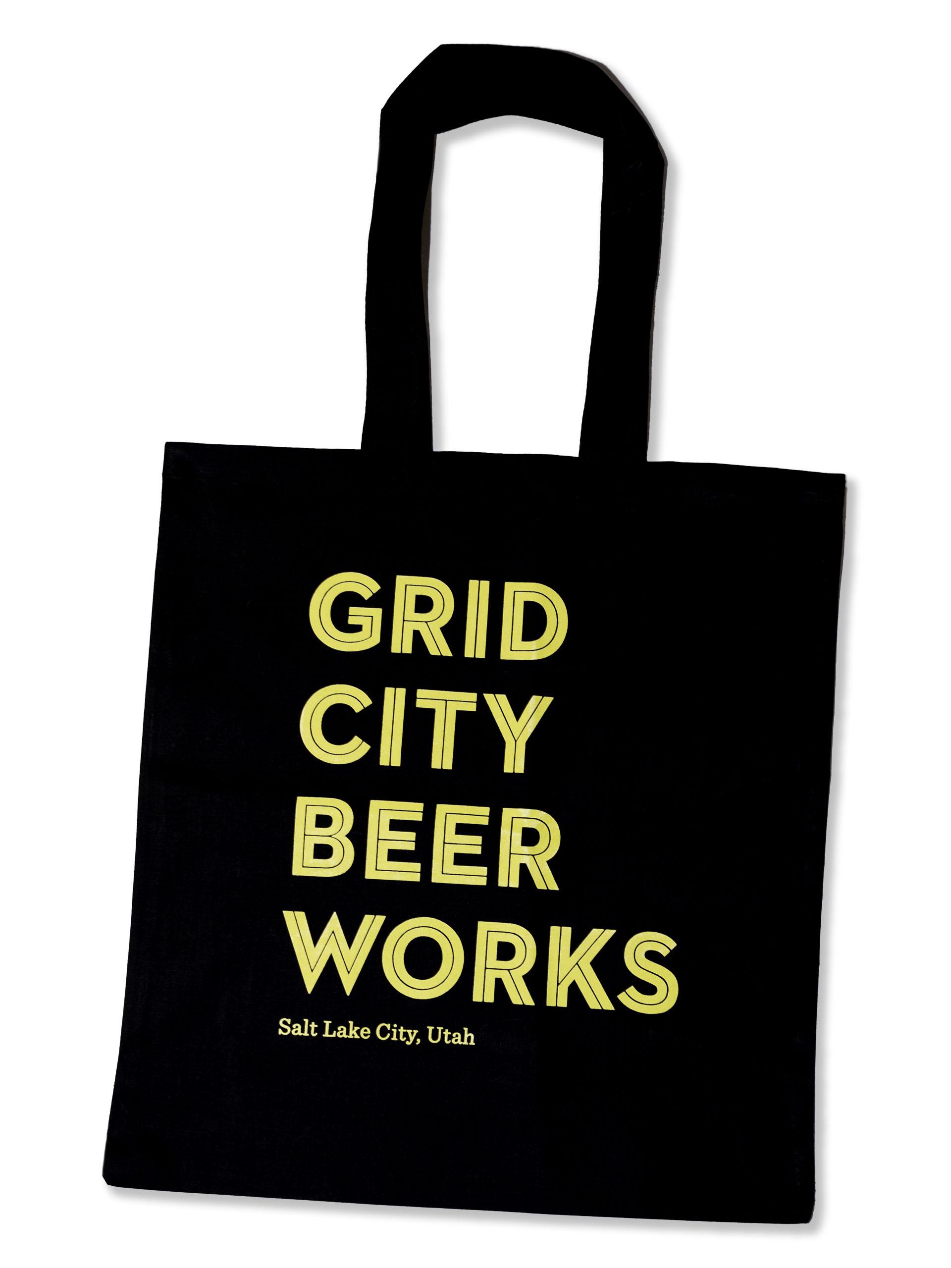 Grid City Tote Bag