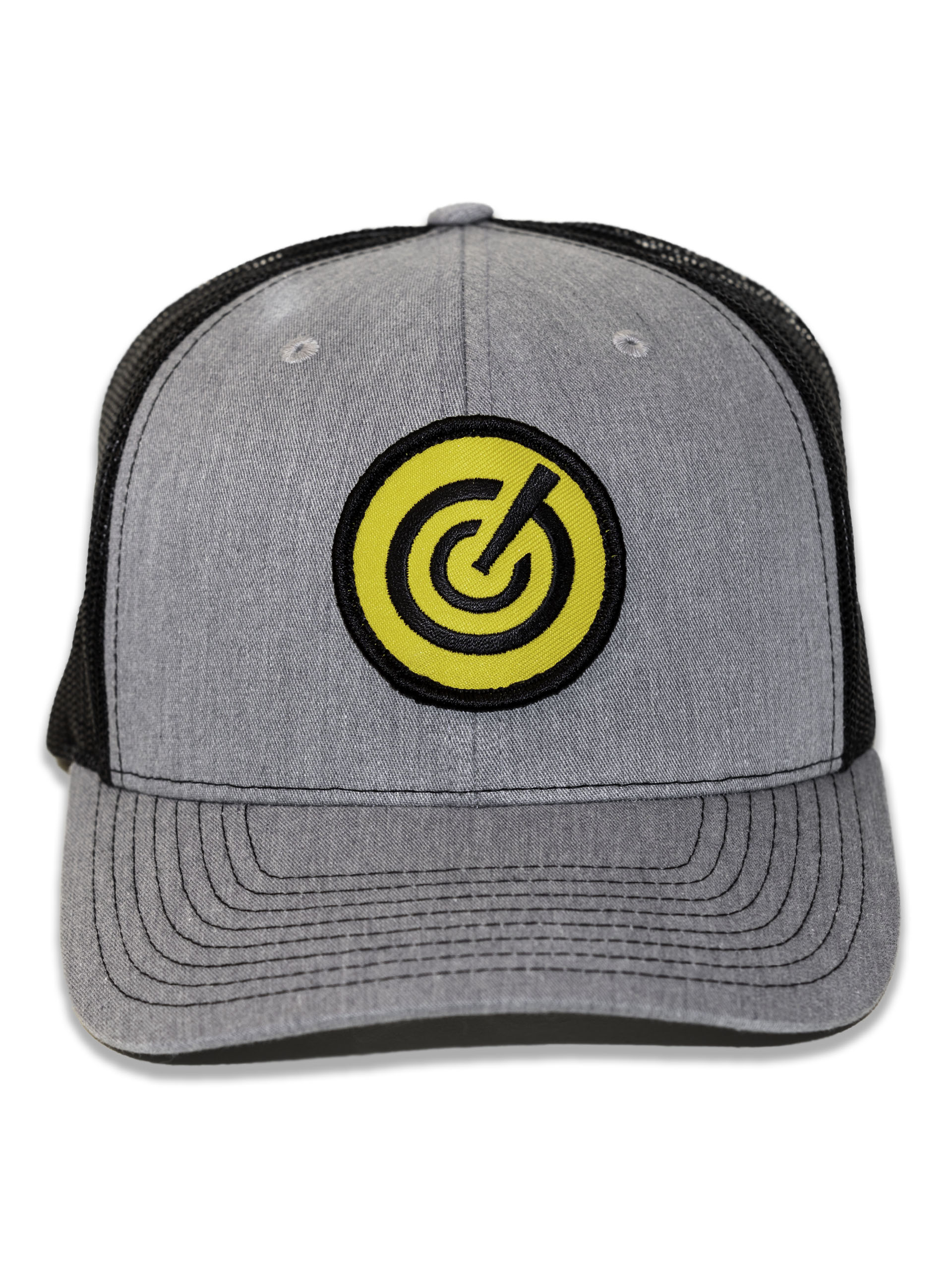Grey Mesh Icon GC Patch Hat