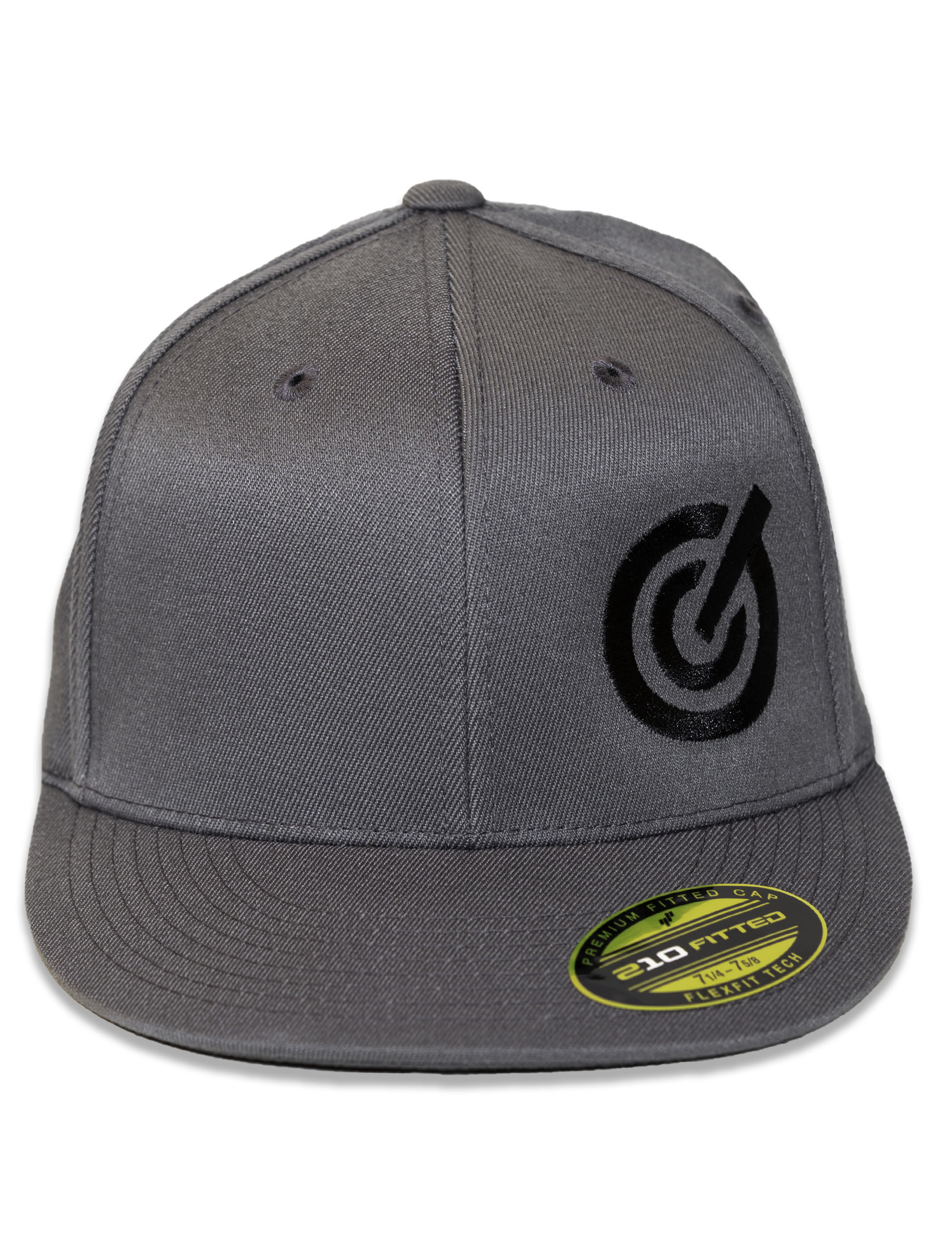 Grey Fitted GC Hat