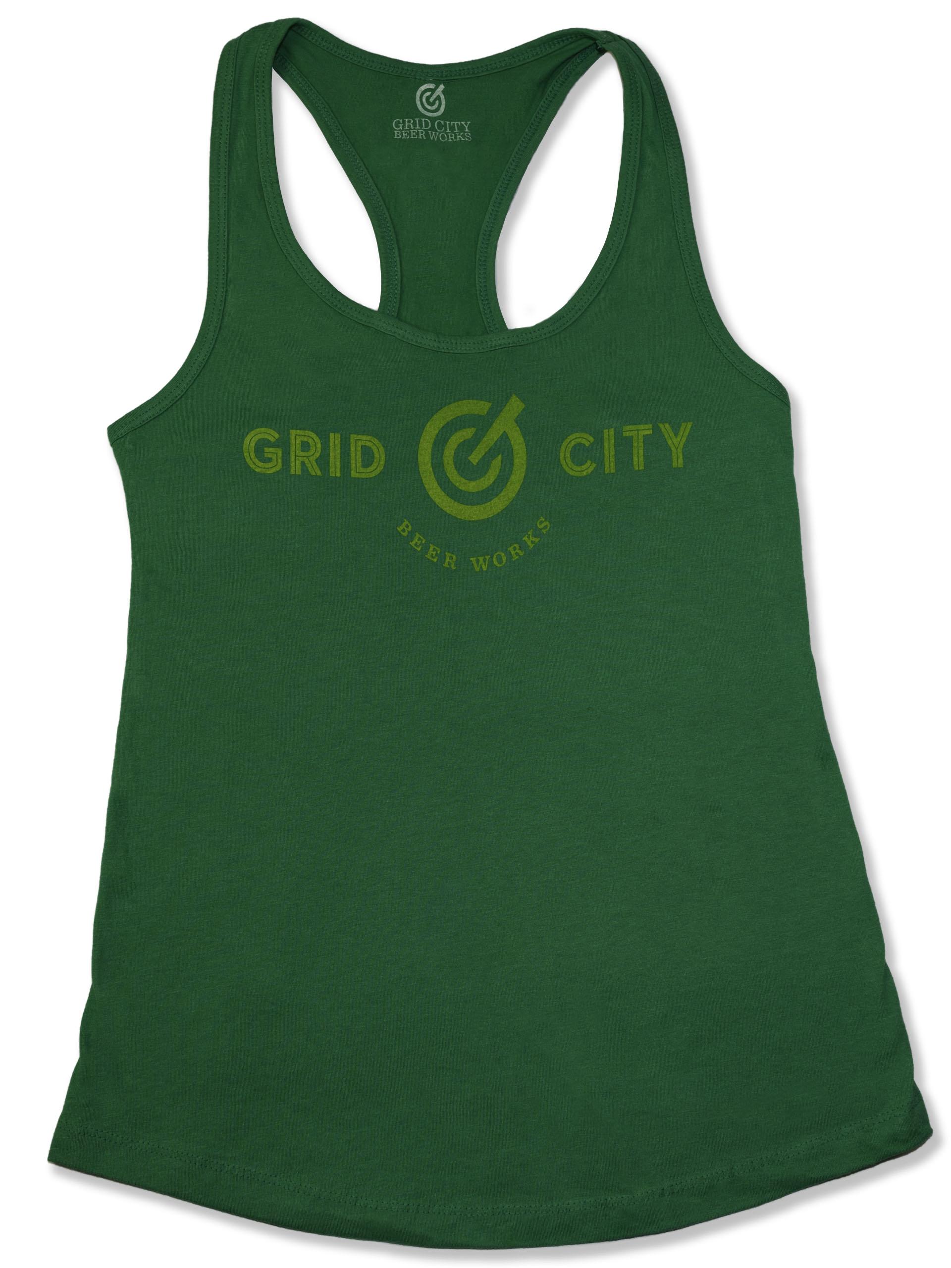 Green Logo Tank