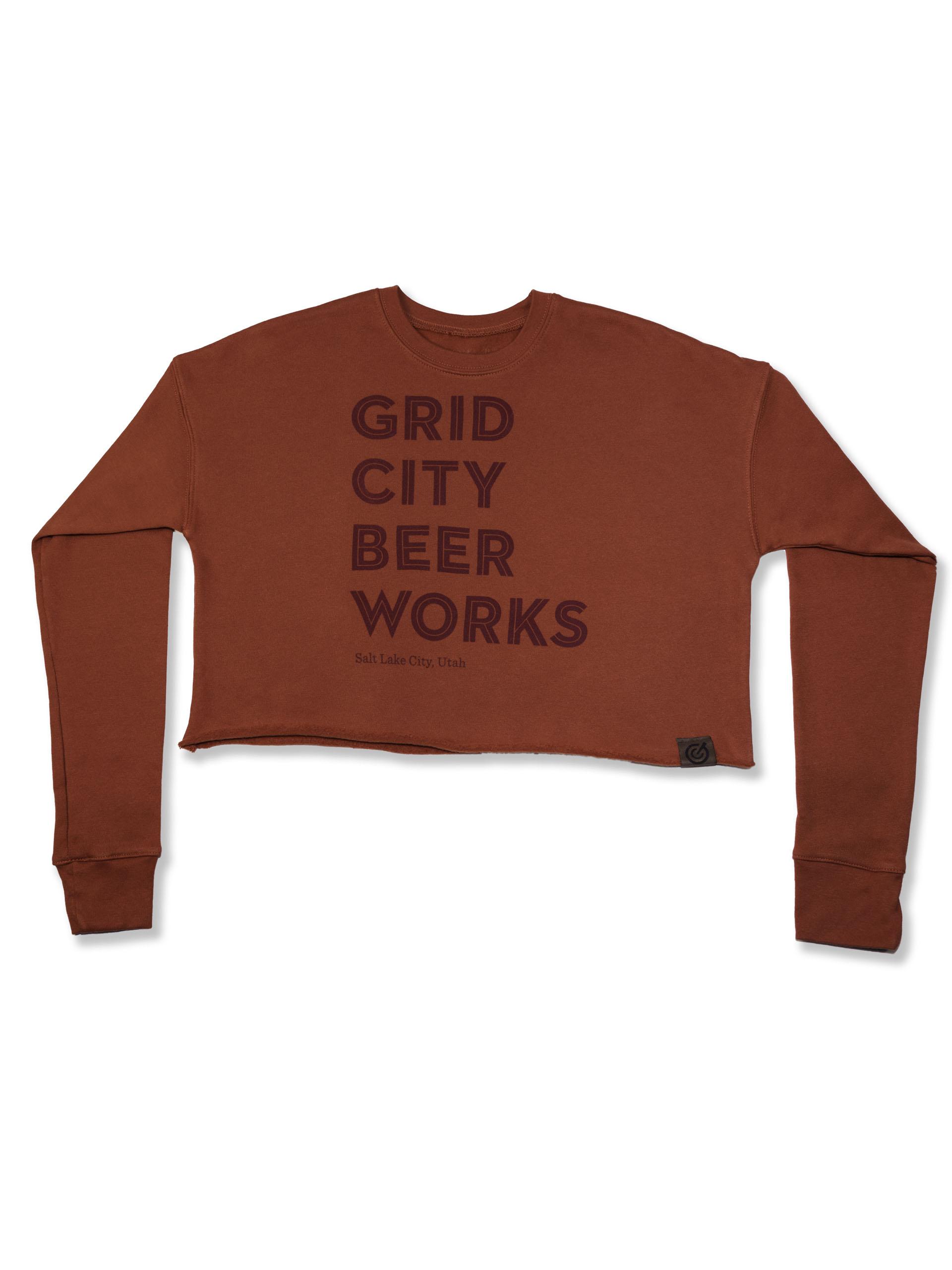 Brick Crop Sweater